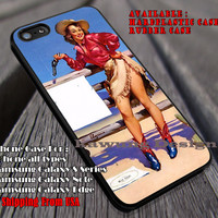 Pin Up Cow Girl Action iPhone 6s 6 6s+ 6plus Cases Samsung Galaxy s5 s6 Edge+ NOTE 5 4 3 #other ii