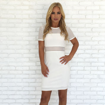 Carolina White Party Dress