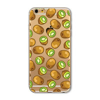 kiwi fruit mobile phone case for iphone 5 5s SE 6 6s 6 plus 6s plus + Nice gift box 072701