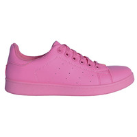 All Color Tennis Sneaker - Bubblegum