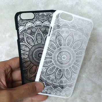 Vintage Retro Lace Floral iPhone 5se 5s iPhone 6 6s Plus Case Cover + Free Gift Box
