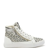 Gilby High-Top Zippered Sneakers at Guess