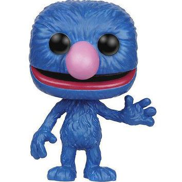 FUNKO POP Sesame Street Grover SOFT VINYL ACTION FIGURE NEW