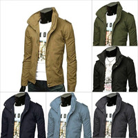 Short Lightweight Outerwear Jacket