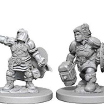 Dungeons & Dragons: Nolzur's Marvelous Unpainted Minis: Dwarf Female Paladin