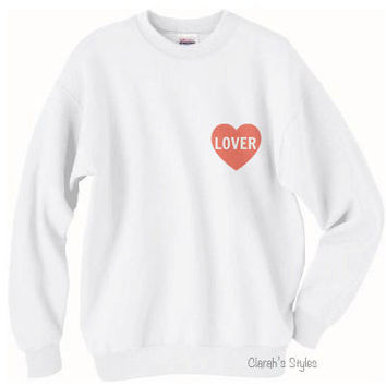 NEW - Lover Sweater Crewneck Harry Styles