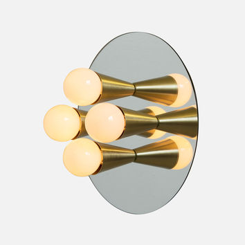 Echo 4 Sconce - Brass