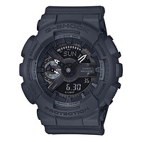 Casio Womens G-Shock S Series - Grey Case & Strap - 200m - Auto LED - Day/Date