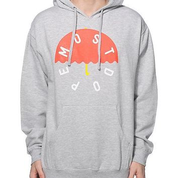 Mac Miller Most Dope UMBRELLA Pullover Hoodie Grey NWT 100% Authentic