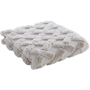 Hagen Throw ~ Gray