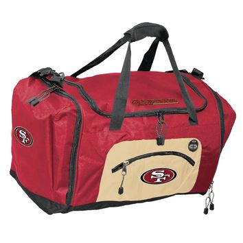 San Francisco 49ers NFL Roadblock Duffle Bag