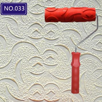 7 Inch Wall Painting Roller Empaistic Pattern Paint Painter Home Wall Decor Improvement Tool