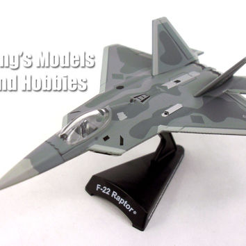 Lockheed Martin F-22 Raptor 1/145 Scale Diecast Metal Model by Daron