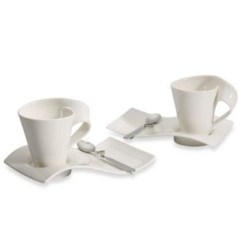 Villeroy & Boch New Wave Cafe Set Service for Two