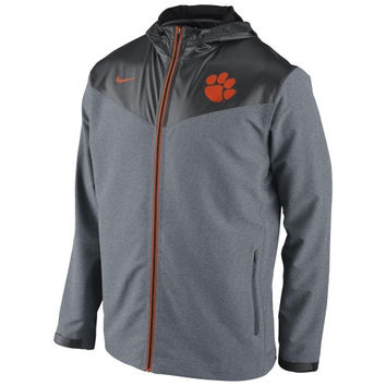 Clemson Tigers Nike Sweatless Performance Jacket – Charcoal