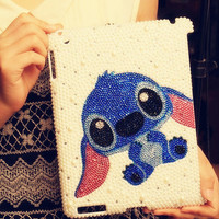 IPAD 2/ IPAD 3 Stitch diamond case