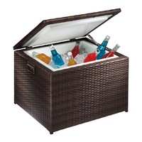 SONOMA outdoors Presidio Patio Wicker Cooler (Brown)
