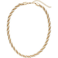 H&M Twisted Necklace $9.95