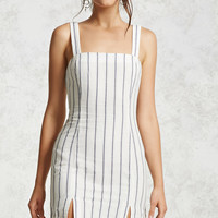 Striped Slit Dress