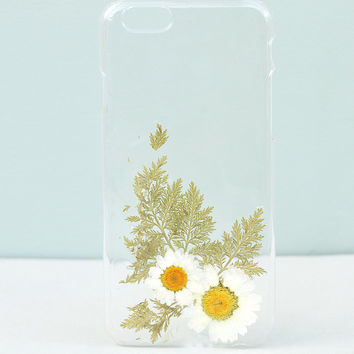 Floral iPhone 6/6s Case Made With Pressed Flowers by Aura & Aura