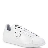 adidas by Raf Simons - Adidas By Raf Simons Stan Smith Leather Sneakers - Saks Fifth Avenue Mobile
