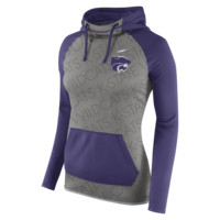 Nike Championship Drive All Time Pullover (Kansas State) Women's Training Hoodie