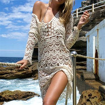 Crochet Beach Cover Up - Different Colors to Choose From