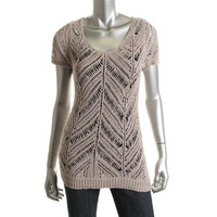 INC Womens Knit Nylon Pullover Sweater