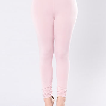 Come Get It Bae Leggings - Pink