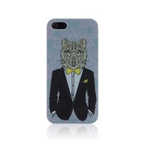 Fashion Mr.Tiger Parahuman Handmade iPhone Cases for 5S 6 6S Plus