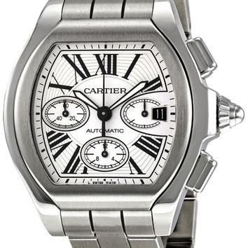 Cartier Roadster Mens Chronograph Automatic Watch W6206019