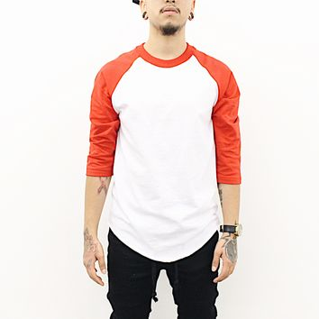 Henry Baseball Tshirt (Red/White)