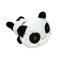 Small Panda with Red Scarf Plushie 10"