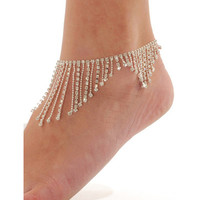 u Diamond oranges foot chain from Eternal