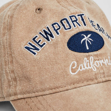 California embroidered cap - Caps & Hats - Accessories - Woman - PULL&BEAR United Kingdom