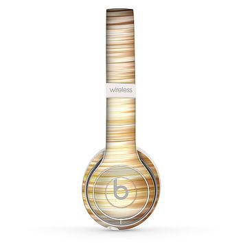 The Brown Vector Swirly HD Strands Skin Set for the Beats by Dre Solo 2 Wireless Headphones