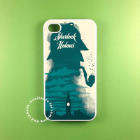 sherlock holmes retro  fit on iphone 5S iphone 5C iphone 5 iphone 4 S samsung galaxy 3 and samsung galaxy s4