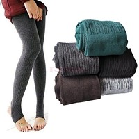 Jeggings Winter Warm Women Cotton Slim Leggings Winter Leggings Women Mayas Mujer#A11