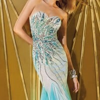 Fitted Embellished Gown by Alyce Prom