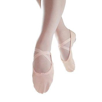 Adult Split Sole Canvas Ballet Slipper