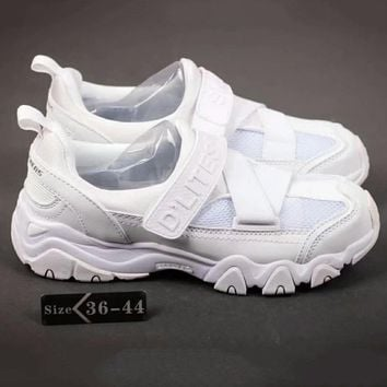 Skechers Fashion Women Sports Running Shoes Full White G-SSRS-CJZX