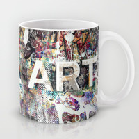 Graffiti Is ART Mug by Pixel Pop