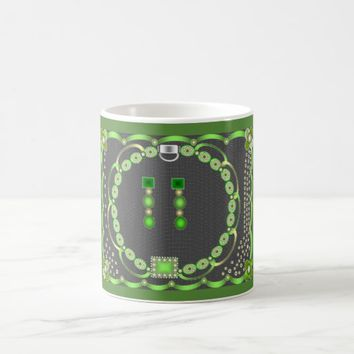 Green Jewel Mug