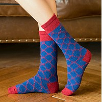GUCCI New fashion more letter women keep warm socks 6 colors 6 pairs of socks