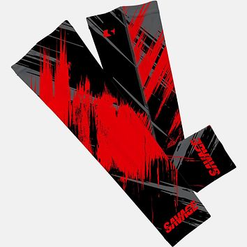 Sleefs Savage Red and Black Arm Sleeve