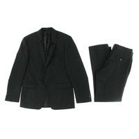 Bar III Mens Wool Double Vent Two-Button Suit