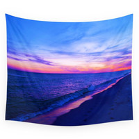 Society6 Beach Sunset Wall Tapestry