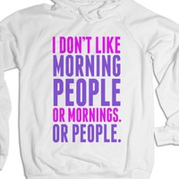 White Hoodie | Funny Gifts For Her