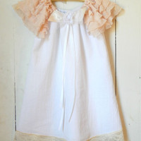 baby toddler dress, petal shabby custom dress 3m,6m,9m,12m,2t,3t,4t portraits,flower girl, birthdays