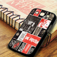 One Direction Best Song Ever Art Collage Samsung Galaxy S3 Case